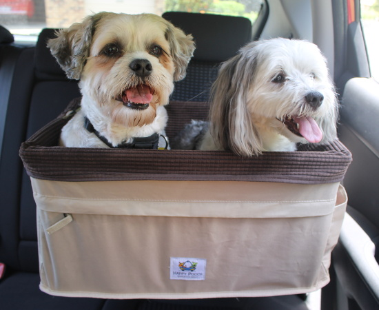 Large Dog Car Seat Happy Pooch